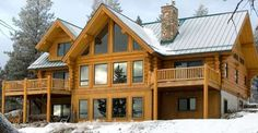 Fabulous Winter Cabin in Montana, Must See Photo Gallery!