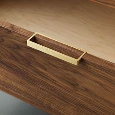 Alice Tacheny Design // Tilde Dresser Drawer Pull Detail