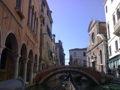 Paseo en Góndola por Venecia. https://viajesalcalaylosninos.blogspot.com