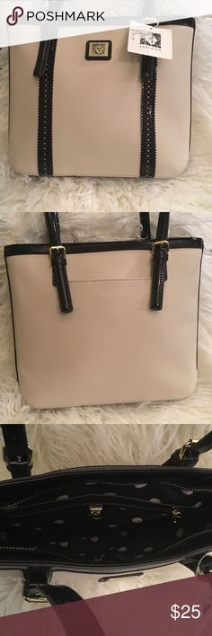 """Ann Klein small tote New with tags , authentic, small size about 12""""x10"""" , no lowballing please..use offer feature to negotiate or you will be ignored ann klein Bags Totes"""