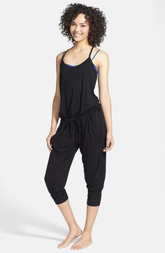 Unit-Y Capri Jumpsuit | Nordstrom.  The holy grail - a jumpsuit WITH harem pants.