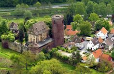 Climb up to the medieval castle of Trendelburg, which was the setting for the tale of Rapunzel; from one of these towers, she let down her long blond hair so the prince could climb up and save her. Am Brunnen 6   34388 Trendelburg