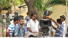 Sneak peek of Ethiri en 3.  Director Ram kumar and his team in Ethiri en 3 Shooting spot.