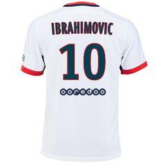 Maillot de foot PSG Exterieur 2015/2016 (10 Ibrahimovic)