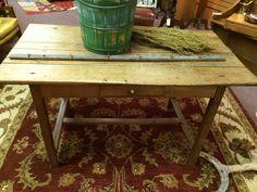 Antique Farm Table, English Oak Farm Table, Primitive Table, Hand Pegged by RagtagStudio on Etsy