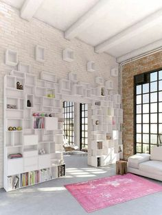 Wall storage - Might be cool to combine cubes and circles