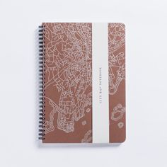 Norwalk, CT City Map Letterpress by Notebook from Hartford Prints. #CTLove