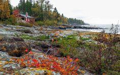 Sugar Beach, Lake Superior, rental