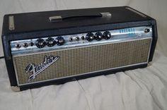 1969 silver face fender bassman amp