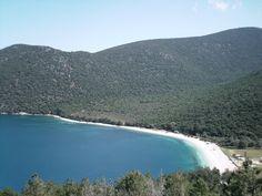 Antisamos beach on Kefalonia