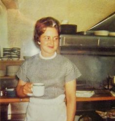 Louise, the cook John's Cafe  Yerington NV 1965