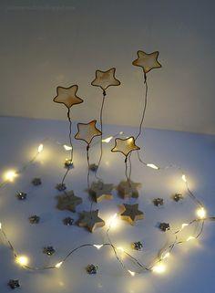 Nail polish stars