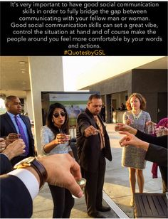 """Cheers to networking!🥂 Photo credit goes out to """"Yours truly"""" ~ NACE networking event at the Meadowlands Sports Complex in East Rutherford NJ.  🔺Tag / Share this with someone who has good social communication skills 🔺 🔹Follow me on Pinterest and Repin your favorite quotes ( link in my profile )🔹 #QuotesbyGSL #quote #quoteoftheday #motivationalquotes #lifequotes #communication #socialskills #socialize #network #goodvibes #controlingthesituation #comfortable #pinterest #instaquote"""