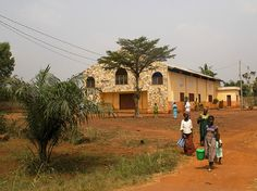 Lome - A little church in the outskirts of Lome, Togo