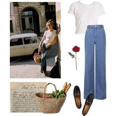 get the look | jane birkin by sixtiesclass on Polyvore featuring moda, Topshop and Gucci