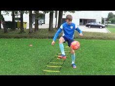 Individual Football training • Agility, Coordination, Ball control, Heading (HD) - YouTube