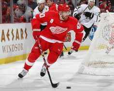 Detroit Red Wings Win 21 in a row on home ice ~ Henrik Zetterburg