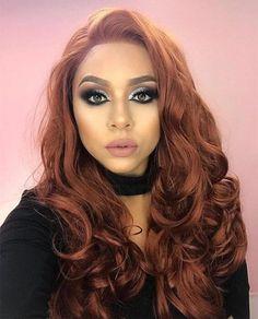 Sulphureus Synthetic Lace Front Wig