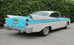 Fins wings and bubble tops on pinterest 1959 cadillac for 1957 dodge 2 door hardtop
