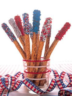 Loving this for a 4th of July Party!