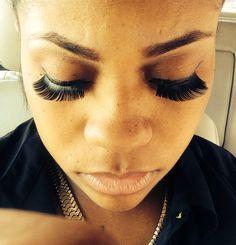 Lashes n brows on myself!