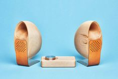 The Grovemade Maple Wood Speakers