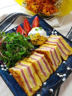 K Food, I Want To Eat, Kimchi, Bento, Keto Recipes, French Toast, Bread, Baking, Breakfast