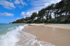 Kokololio Beach Park- up by Laie. secluded and bigger than Laie