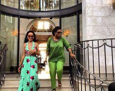 Riri le dio un tour por Barbados a Oprah durante sus vacaciones. Aquí una imágen de su paseo.