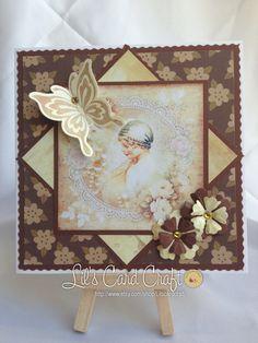 Handmade Card  Blank Card by LilsCardCraft on Etsy, $7.00