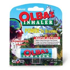 Buy Olbas Aromatic Inhaler with free shipping on orders over $35, low prices & product reviews | drugstore.com