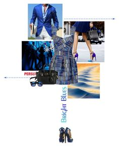 """Mini Dress"" by lacas ❤ liked on Polyvore featuring Jimmy Choo, minidress, persunmall and persun"