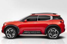 Citroën Aircross Concept heeft Alloybumps | Autonieuws - AutoWeek.nl