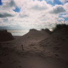 crosby beach sand dunes - instagram @nikicottonartist #nikicottonartdotcom #anotherplace #crosbybeach #sanddunes