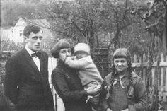 Сергей Эфрон, Марина Цветаева с Георгием (Муром) и Ариадна Эфрон