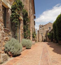 Sovana (Grosseto, Toscana) - borgo,  tra i piu' belli della Toscana, di poche case attraversato da una sola strada