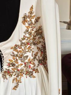 Winter gown inspiration.~Vestidos de Novia Manuel de Vivar, Alta costura Madrid.