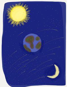 Taramul Imaginatiei: Mândrul Soare şi iubita Lună