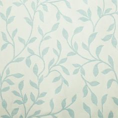 John Lewis leaf trail curtains in duck egg