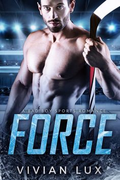 FORCE: A Bad Boy Sports Romance, will be released on July 2nd!  *****  I'm not a nice guy.  And so far, that's working out really fucking well for me.  In hockey, the enforcer is a not an officially sanctioned position. But everyone knows what he does. And everyone knows what I do. I'm Ian Carter after all. I'm a big, bad bully both on and off the rink. My fans know it, and I know it too.  Until I meet her.   Candace Hunter. My sweet piece of Candy. She's the got the face of an angel and a…