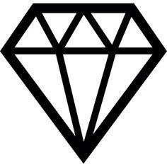Precious diamond jewelry Free Icon