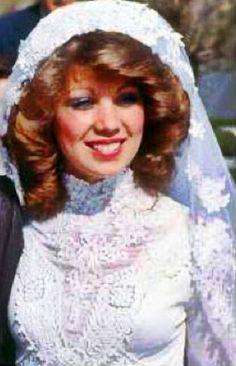 Debbie on her wedding day, 5-08-78