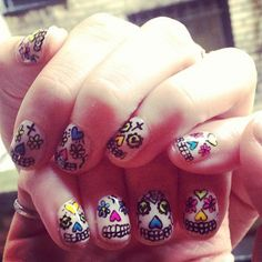 Alexa's nails :D