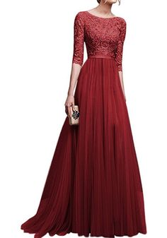 Formal Ball Gown Party Cocktail Wedding Bridesmaid Evening Dress long sleeve J@ , Evening Dress Long, Summer Dresses For Women, Evening Dresses, Evening Party, Evening Cocktail, Dress Summer, Maxi Dress With Sleeves, Chiffon Dress, The Dress