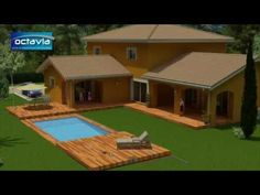 Terrasse mobile pour Piscine - YouTube
