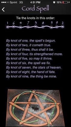 Magick Spells: Cord #Spell.: