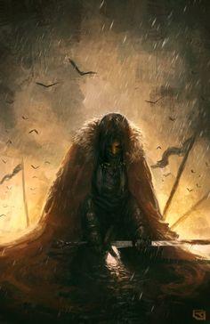Weary Warrior by Rob-Joseph