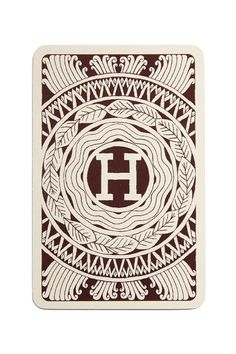 vintage hermes playing cards