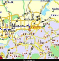 shenzhen tourist map » Full HD MAPS Locations - Another World ...