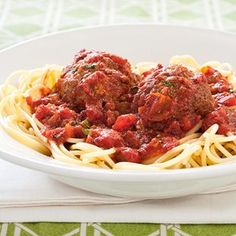 Slow-Cooker Meatballs and Marinara Mirowave meatballs before adding to slow cooker to render fat so sauce will not be greasy.
